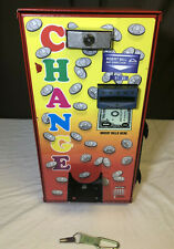 American Changer AC-401 CHANGE MACHINE $1 and $5 Bill  Red