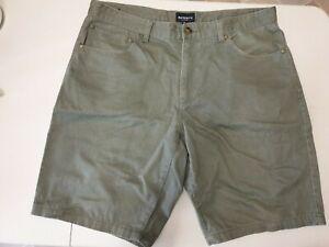 Reserve W36 Mens 100% Cotton Shorts, Green Colour