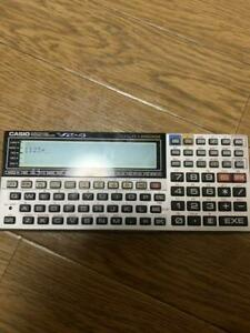 CASIO VX-4 mini Pocket Computer language