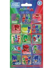 PJ MASKS Fun Foiled REWARD Stickers sheet Official Product 15 Stickers