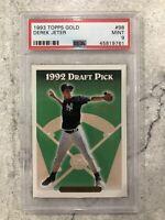 1993 Derek Jeter Topps GOLD Rookie PSA 9 MINT RC #98 New York Yankees
