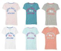 AEROPOSTALE AERO WOMENS/GIRLS GRAPHIC APPLIQUE T-SHIRT NEW #2130