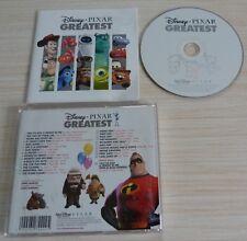 CD BEST OF WALT DISNEY PIXAR GREATEST HITS BOF MUSIQUE DE FILM VERSION ORIGINALE
