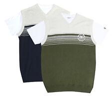 V Neck Regular Fit Striped Casual Shirts & Tops for Men