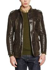 ISACO faux-leather men's cold lined jacket size 52 (XL)