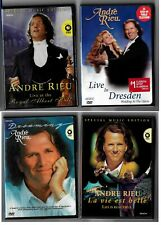 (4) ANDRE RIEU Music DVDs - Special Editions, Dreaming, Royal Albert, Dresden