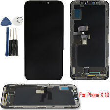 For iPhone X 10 Touch Screen LCD Display Glass Digitizer Assembly Replace Black
