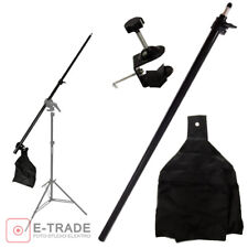 Boom Arm Lighting Holding tripod 77-141cm  Telescopic Boom Arm & Lock Nut