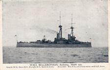 Postcard Ship HMS Bellerophon