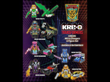 KRE-O 6 Pack Transformers BotCon 2014 Mint in Sealed Bag