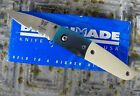 Benchmade 850S Partially Serrated Blade Ivory Micarta Scales Mel Pardue Design