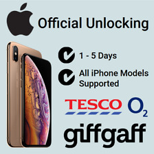 Unlock Service For iPhone 5 5S 5C 6 6+ 6S 6S+ 7 7+ O2 Tesco GiffGaff UK