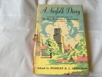 A NORFOLK DIARY BY HERBERT B.J.ARMSTRONG 1st ED 1949