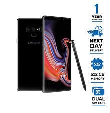 New Samsung Galaxy Note 9 512GB Dual Sim Unlocked, Black - Next Day Delivery