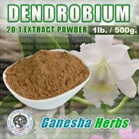 100% PURE  DENDROBIUM concentrated 20:1 EXTRACT POWDER BULK 1LB