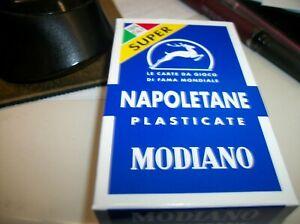 MODIANO ITALIAN PLAYING CARDS NAPOLETANE