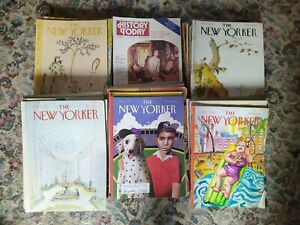 52x Collection Lot New Yorker (44) History Today (8) Magazines 1979/80s/90s