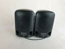 Sony Mini Stereo Speaker System SRS-P3 L&R, black, excellent condition, used