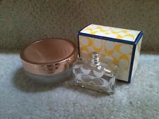 EMPTY COACH Spray Bottle and Empty  ESTEE LAUDER SENSUOUS Jar