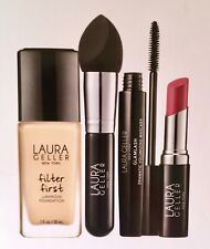Laura Geller New York *Flawless Fundamentals* 4 Piece Collection Makeup *PECAN*