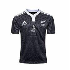 New Zealand All Blacks RAU TAU 100 YEARS rugby jersey shirt S-3XL