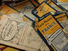 Cartes routières de collection france Années 1920 sur michelin