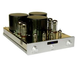 YAQIN MC-10T EL34 push pull Vacuum Tube Integrated Amplifier 40W+40W