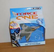ERTL FORCE ONE DIE-CAST METAL SOVIET MIG-29 FULCRUM FIGHTER JET AIRCRAFT #1037