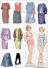 """Vintage Whitman #4775 PATTY DUKE """"MAGIC"""" paper dolls 1965 cut MOD-ERA"""
