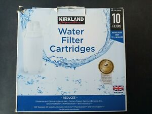 Kirkland Signature 10 Pack Water Filter Cartridges