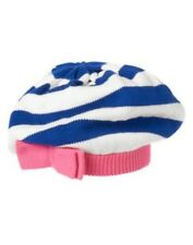 GYMBOREE STRIPES & ANCHOR STRIPE N BOW BERET SWEATER HAT S M L NWT