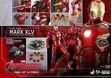 HOT TOYS MMS300 D11 Avengers Age of Ultron Iron Man Mark XLV 45 MK45 Diecast