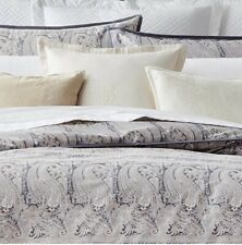 Ralph Lauren Mariella Paisley Full/Queen Comforter Retail $355 Gray Cream New