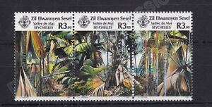 ZIL ELWANNYEN SESEL SEYCHELLES MNH STAMP SET 1987 TOURISM SG 162-164