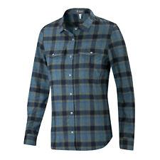 *New*Ibex Women's Merino-blend Taos Plaid Shirt Nwt Medium Aspen M wool boutique