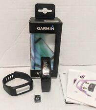 Garmin Vivofit Fitness Band Bluetooth Activity Tracker W/ LG & SM Bands Exc Cond
