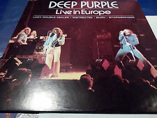 "DEEP PURPLE ""LIVE IN EUROPE"" ITALIAN ONLY VINYL"
