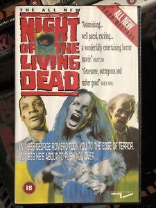 Night Of The Living Dead 1990 Big Box Vhs