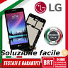 LCD DISPLAY+TOUCH SCREEN+FRAME PER LG K8 2017 MS210 M200N VETRO SCHERMO TOP 24h!