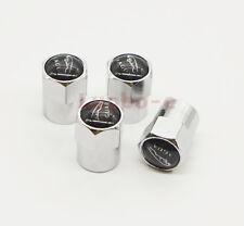 4Xx Universal Car Wheel Tire Dust Stems Cover Tyre Valve Caps For Jaguar XE XF