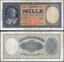 1000 Lire Medusa 25/9/1961 Carli - Ripa BB