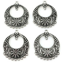 22419 10pcs/lot Vintage Earring Findings Alloy Charm Diy Jewelry Pendant