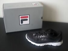 FILA Women Sneaker - Finest Hour Running - Black/Black/White - WOMEN Size 9 / 40