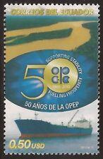 Ecuador 2228 2010 50 Años de la OPEP Barco ship MNH