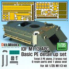 DEF. MODEL DE35023 , IDF M113 APC Basic PE Detail up set (for 1/35  , SCALE 1:35