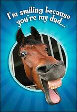 Leanin' Tree Father's Day Card  -  Laughing Mule Theme - ID#525