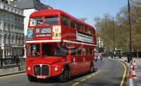 PHOTO London Transport AEC Routemaster RML2386 JJD386D in 1993 at Green Park