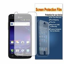 4x Samsung Galaxy S II Skyrocket SGH-i727 Clear LCD Screen Protector Guard