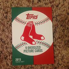 Cover Card Boston Red Sox only 99 made 2015 Topps '52 Tribute oversized 5x7 1952