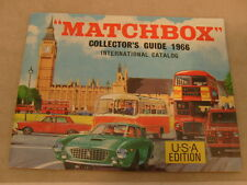 1966 MATCHBOX LESNEY CATALOG USA EDITION COLLECTOR'S GUIDE VERY NICE NEW
